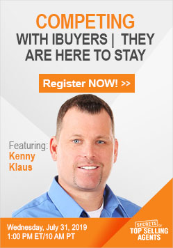 Kenny Klaus, Secrets of Top Selling Agents Guest Webinar Speaker