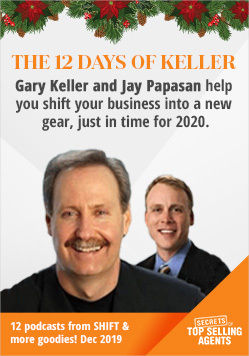 12 Days of Keller Podcasts at Secretoptopsellingagents.com